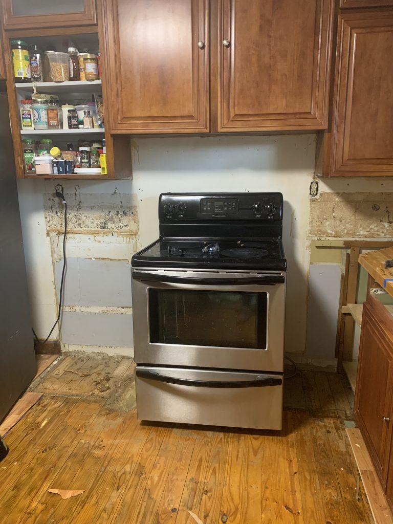 1930s kitchen renovation